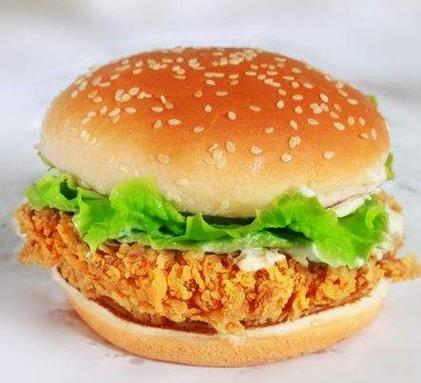 堡莱客炸鸡汉堡