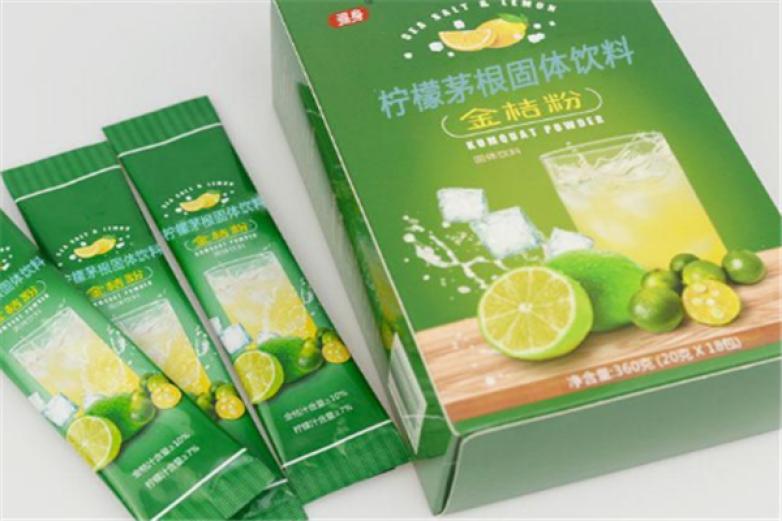 自然在線檸檬固體飲料加盟