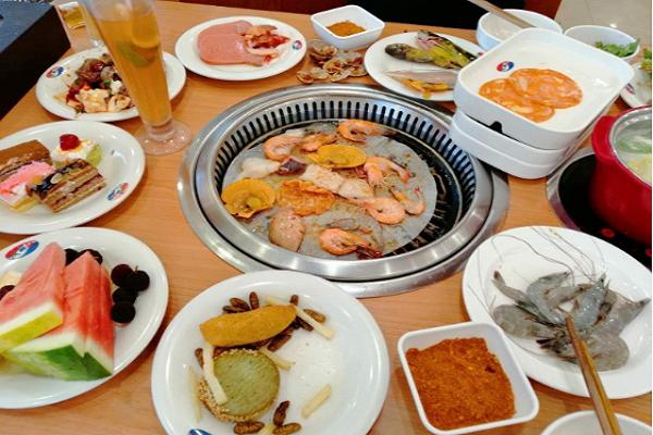 汉丽轩烤肉自助餐