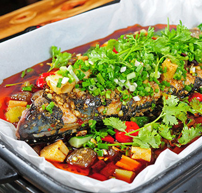 西安纸包鱼