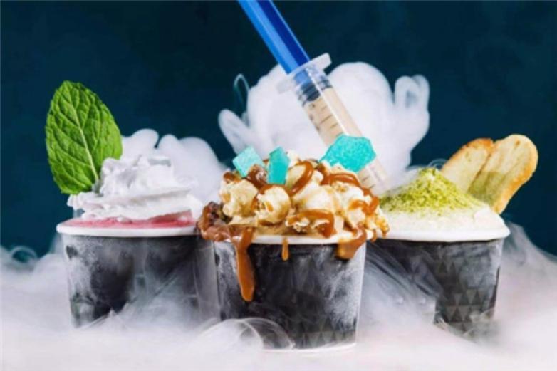 冒氣冰淇淋加盟