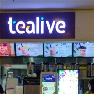 Tealive奶茶