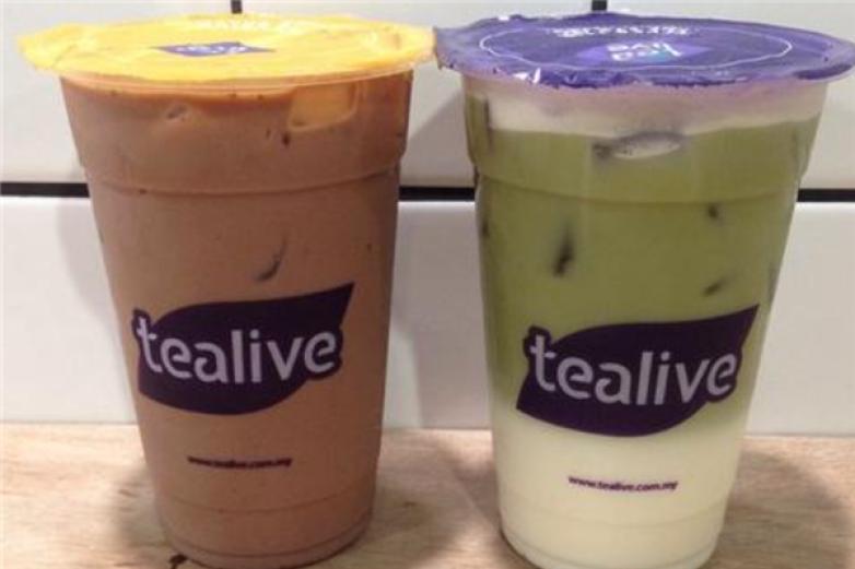 Tealive奶茶加盟