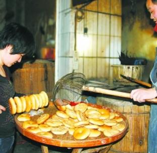 黃老太牛肉燒餅