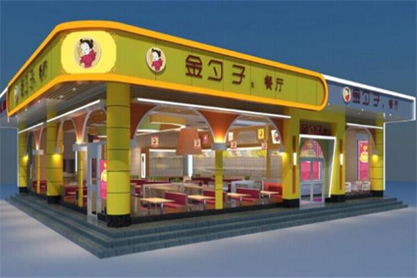 金勺子中式快餐加盟