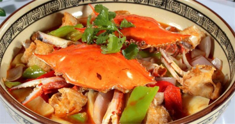 金胖肉蟹煲加盟