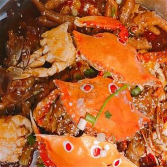 i味肉蟹煲